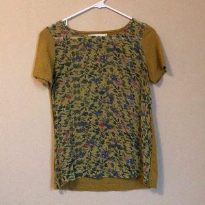 Madewell Silk/Cotton T-shirt